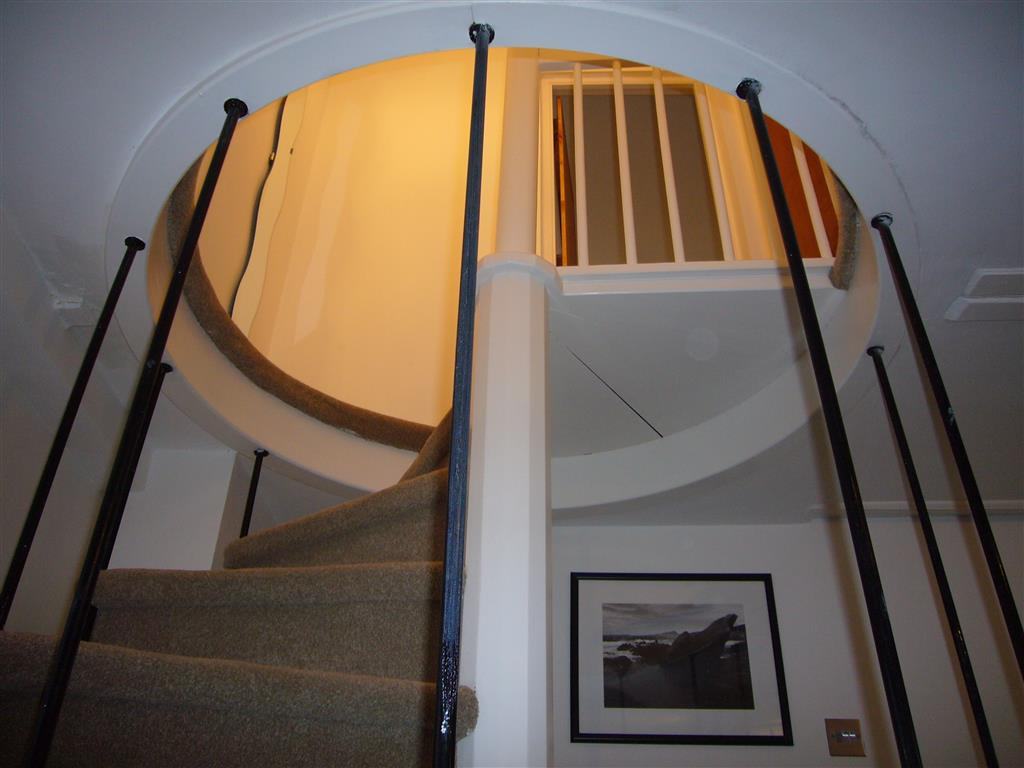 29) 2 Carnglaze Place -  Stairs from sitting room to bedrooms