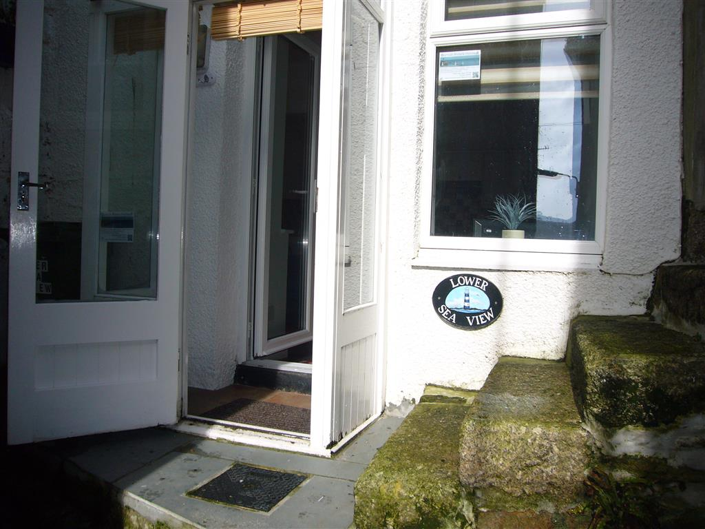 42) Lower Seaview -  The front porch