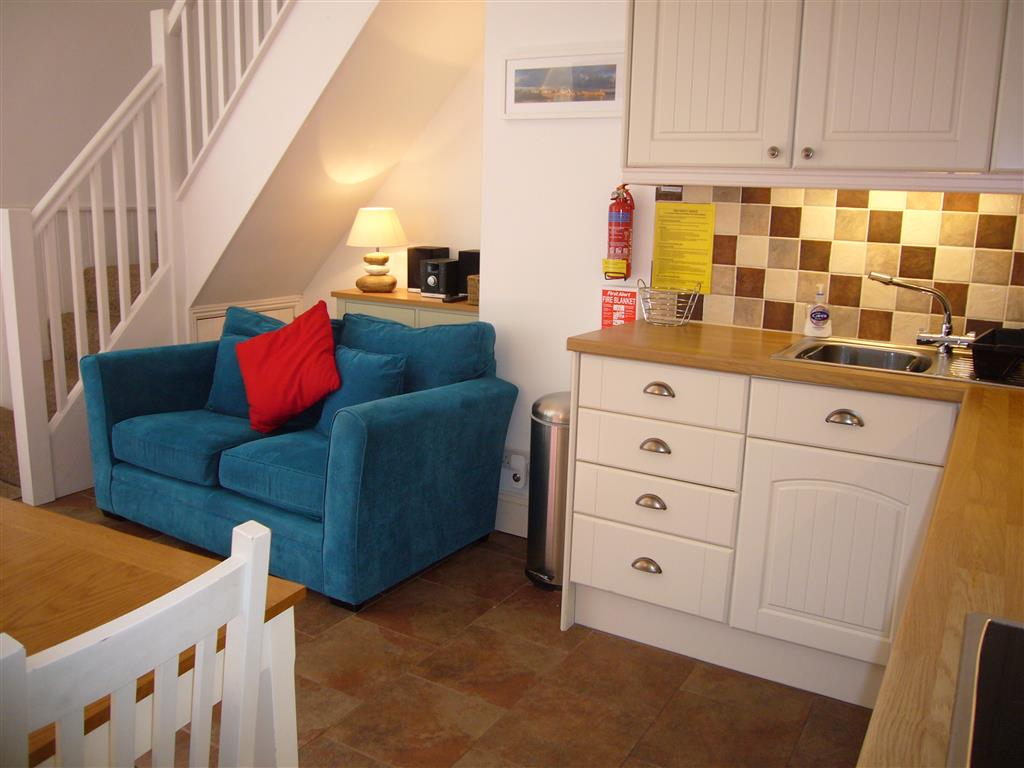 42) Lower Seaview -  Sitting room/kitchen