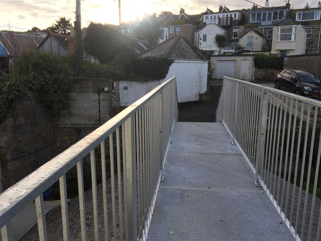 50) 6 Malakoff -  Bridge from steps at rear