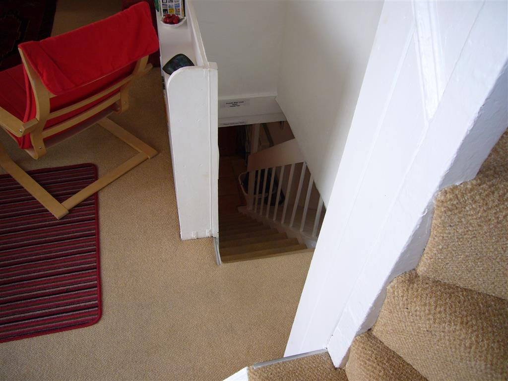 46) Gazelle Cottage -  Stairs down to kitchen