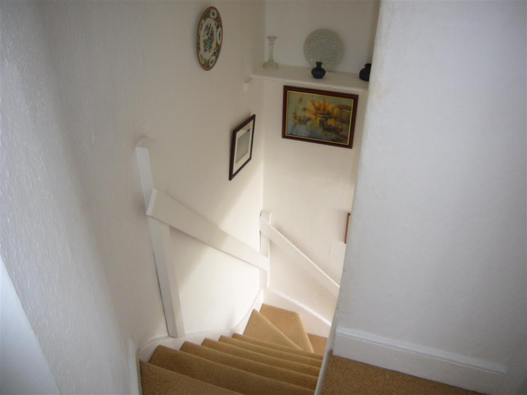 46) Gazelle Cottage -  Stairs down from bedroom