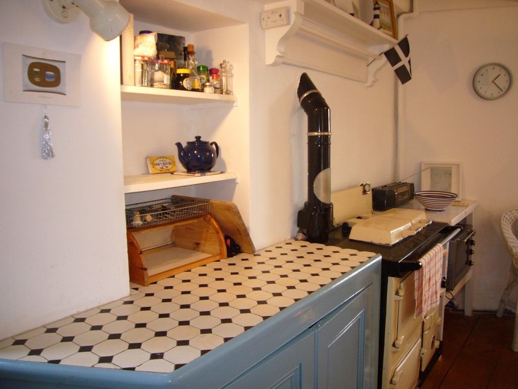 56) Slantways -  Kitchen