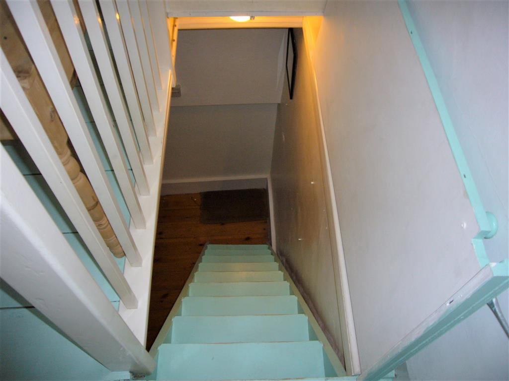 57) 3 Love Lane -  Staircase from bedroom to kitchen