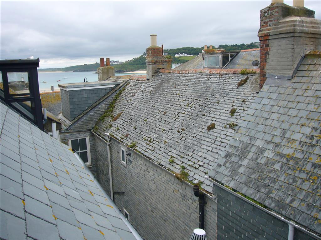 40) Jellyfish Cottage -  View from the top of the house.