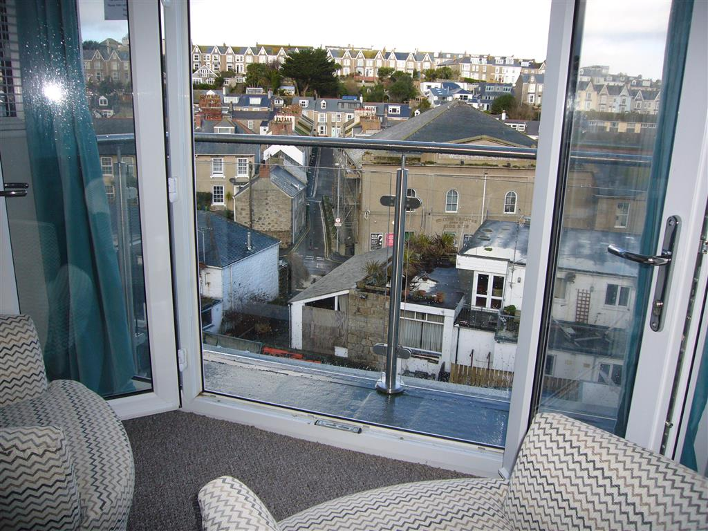 60) 24 Trenwith Place -  View from sitting area in top bedroom