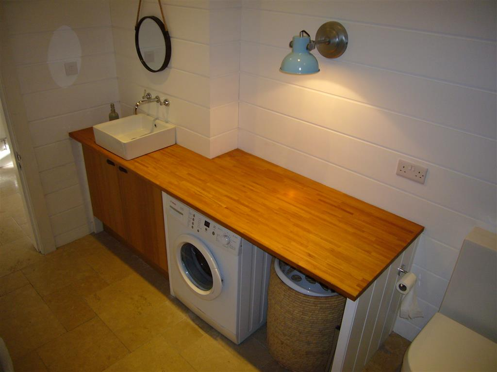 07) Porth House -  Utility room on ground floor
