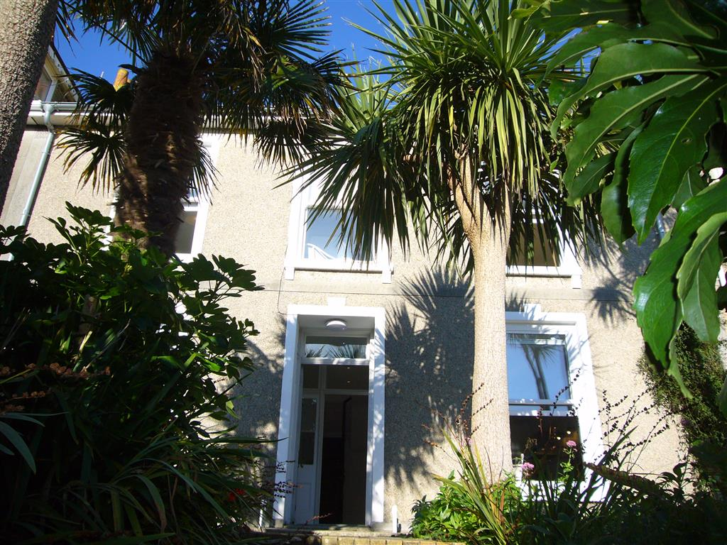 63) Porth Lite -  Front of Porth House