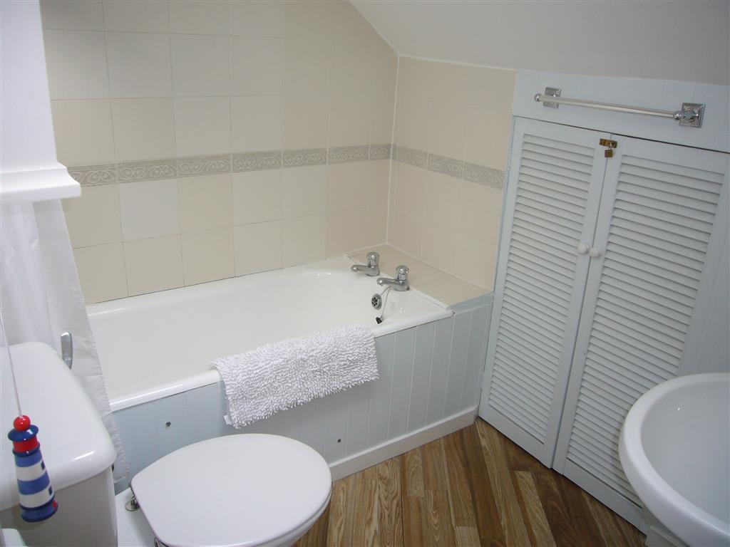 63) Crows Nest -  Bathroom off the hall, same level as living ar