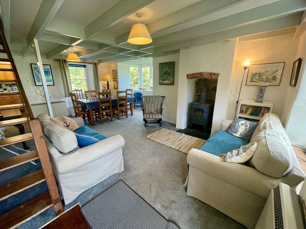 Ship Cottage front door