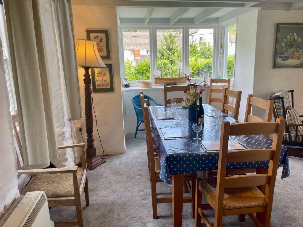 Ship lounge window