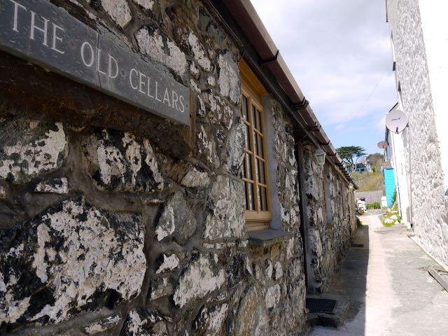 Sign at Old Cellars