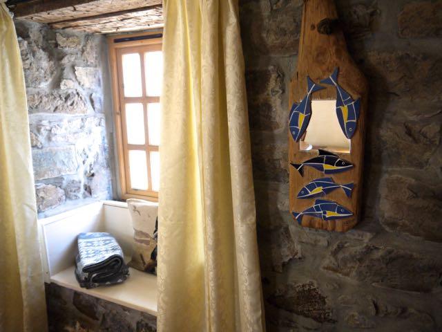 Window seat at Old Cellars