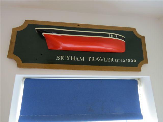 Brixham trawler!