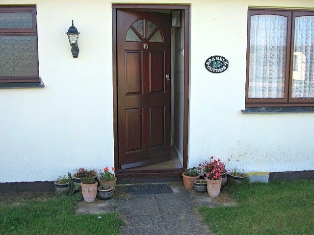 Bramble outside door