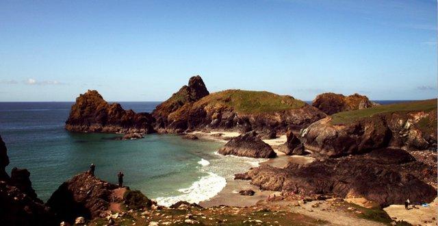 Kynance Cove - nearest beach