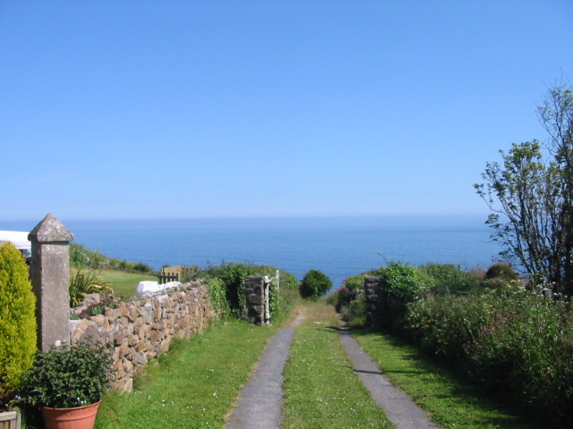 Driveway to the sea