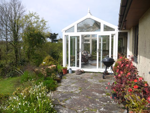 Entrance to conservatory