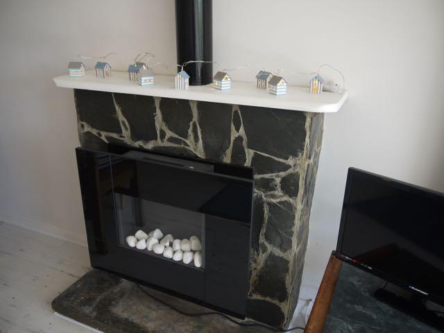 Spring Tide fireplace