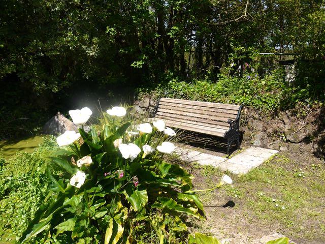 Trewidden garden bench