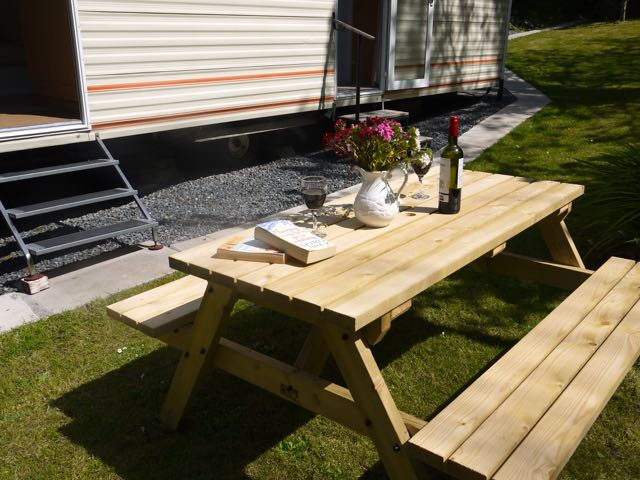 Trewidden outside table