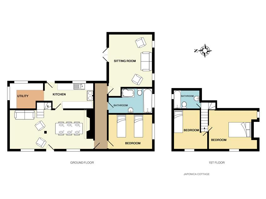 floorplan japonica cottage