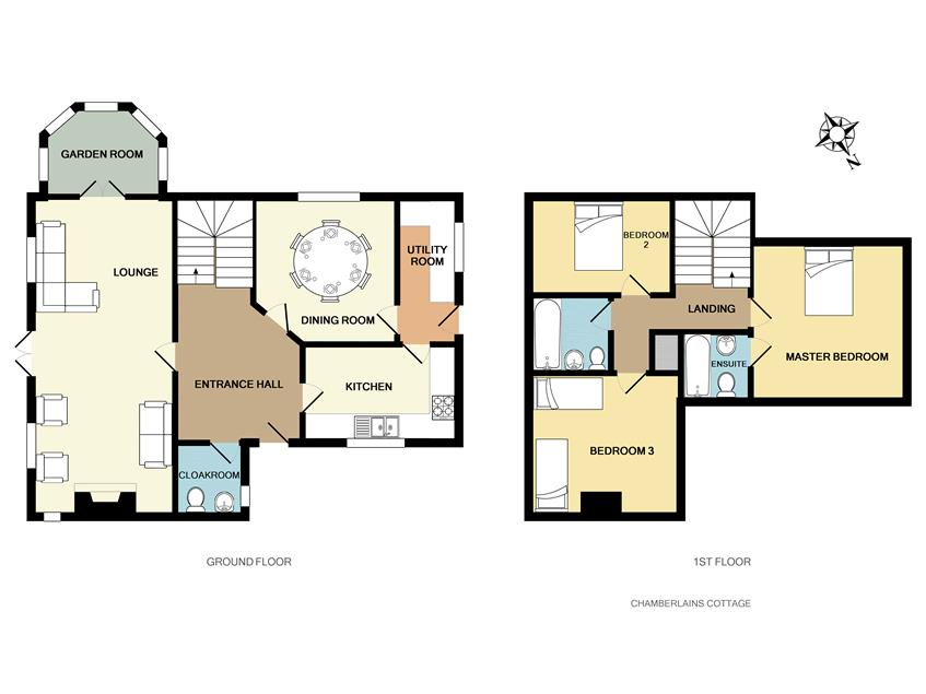 floorplan chamberlains cottage