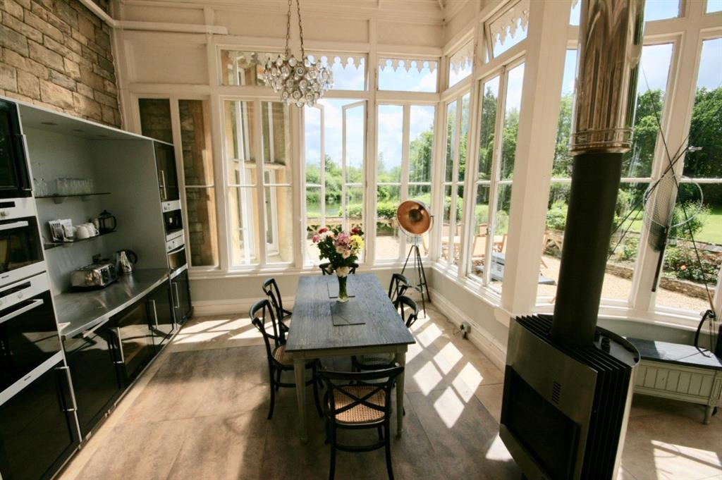 Dining Table and Conservatory