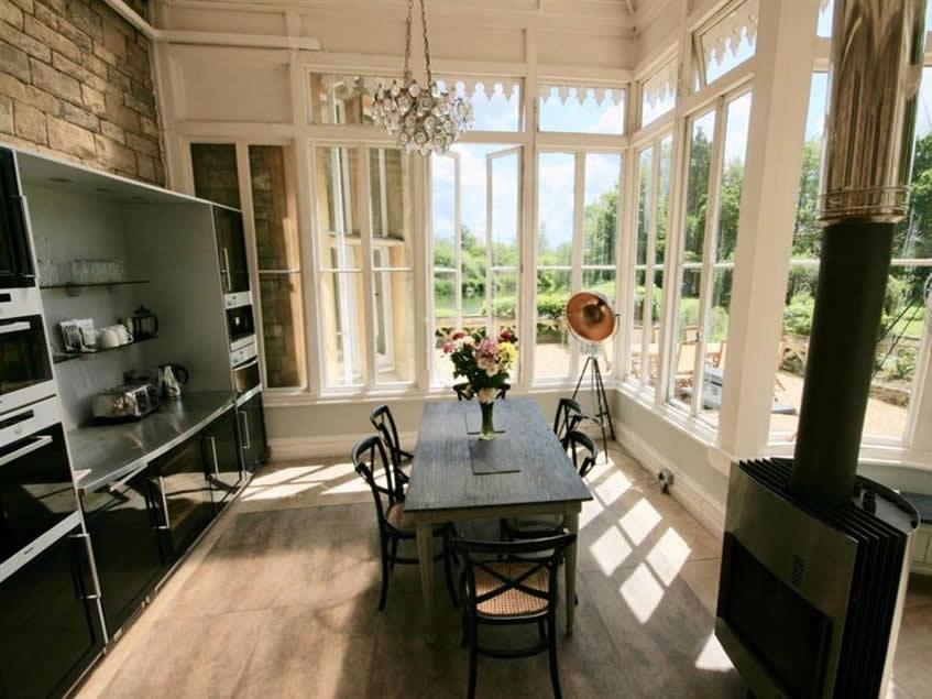 Breakfast table in kitchen - resized