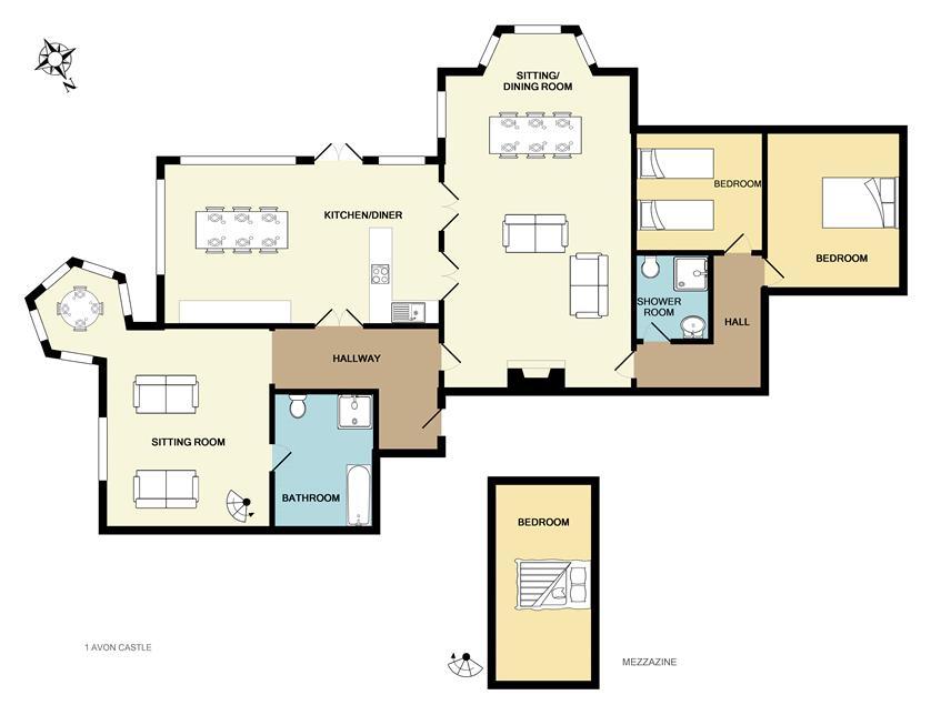 floorplan 1 avon castle