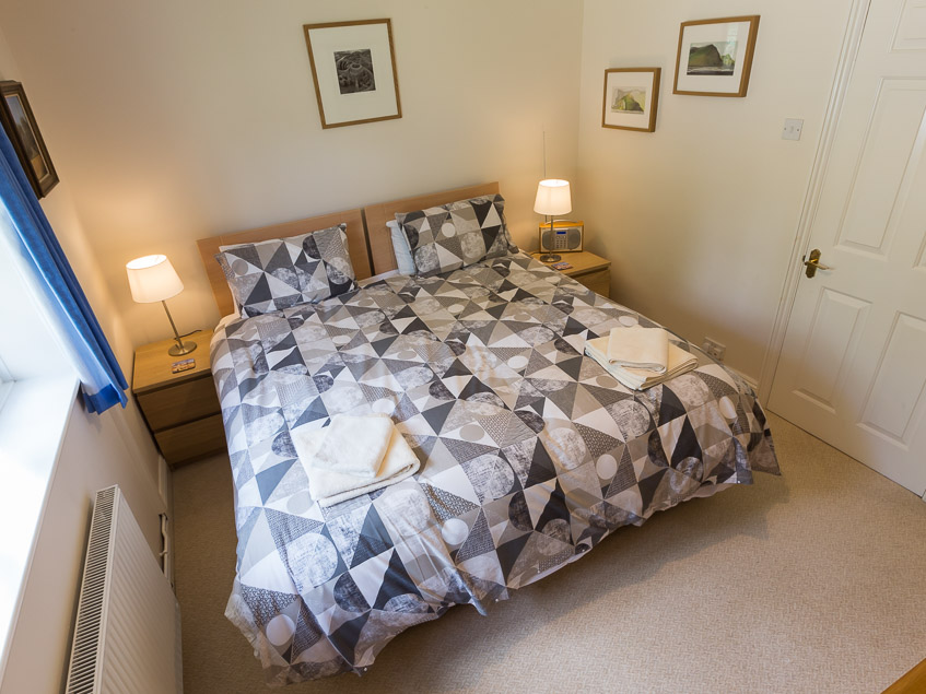 Knightwood Lodge double bedroom