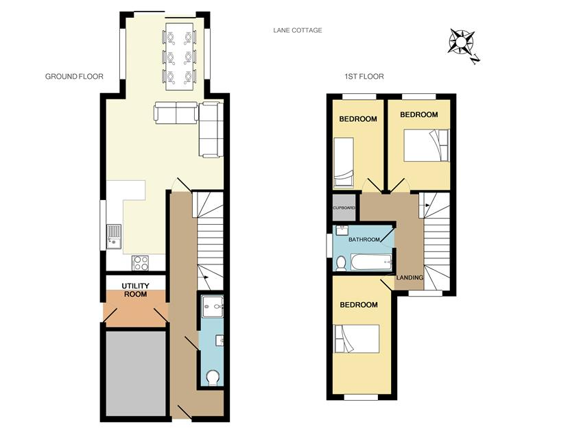 floLane Cottage floorplan