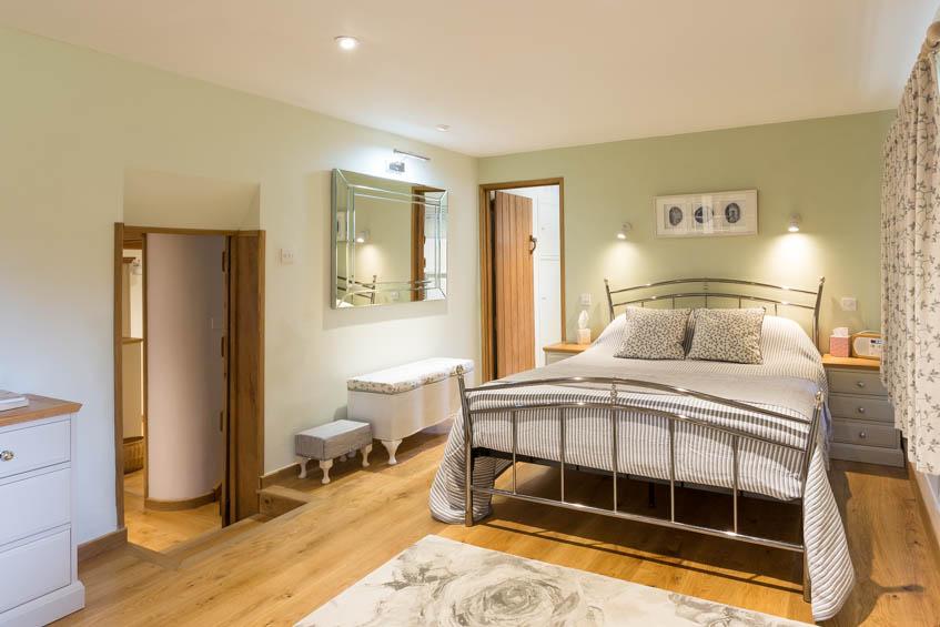Ground floor bedroom with ensuite