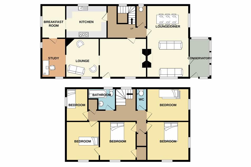 floorplan HollybushFarmhouse